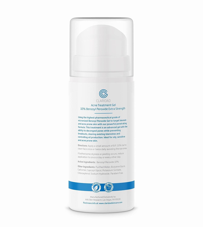 Amazon Com Benzoyl Peroxide 10 Acne Treatment Gel Pimple Cream