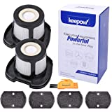 KEEPOW Vacuum Filter Replacement for Bissell Pet Hair Eraser Hand Vac. 2284W 2390 2389 2390A, Compare to Part # 1614212, 1614