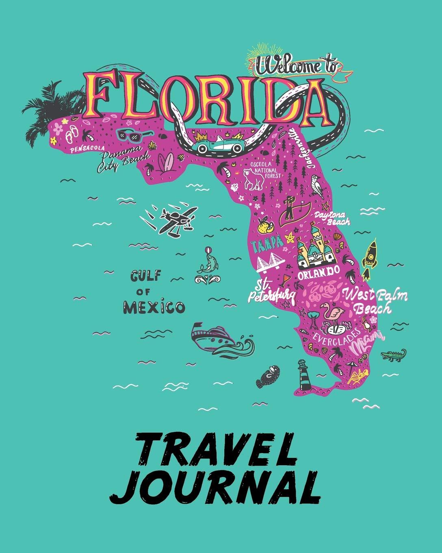 Travel Journal Kid S Travel Journal Map Of Florida Simple Fun