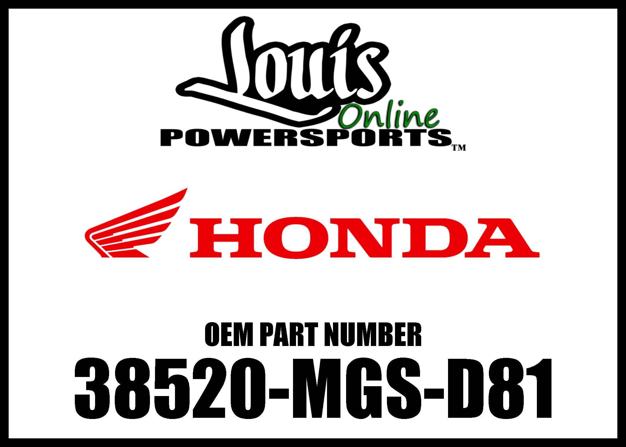 HONDA 38520-MGS-D81 SENSOR, FR. by Honda