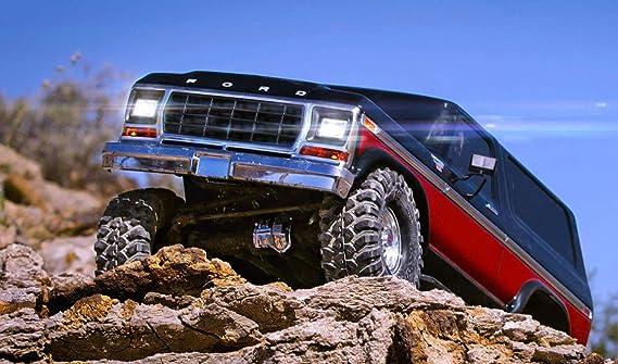Traxxas 8035 Juego de velas Ford Bronco TRX de 4 con Power Supply