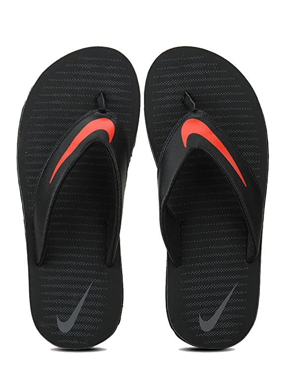 Nike Men's Chroma Thong 5 Black Flip Flops Flip-Flops & House Slippers at amazon