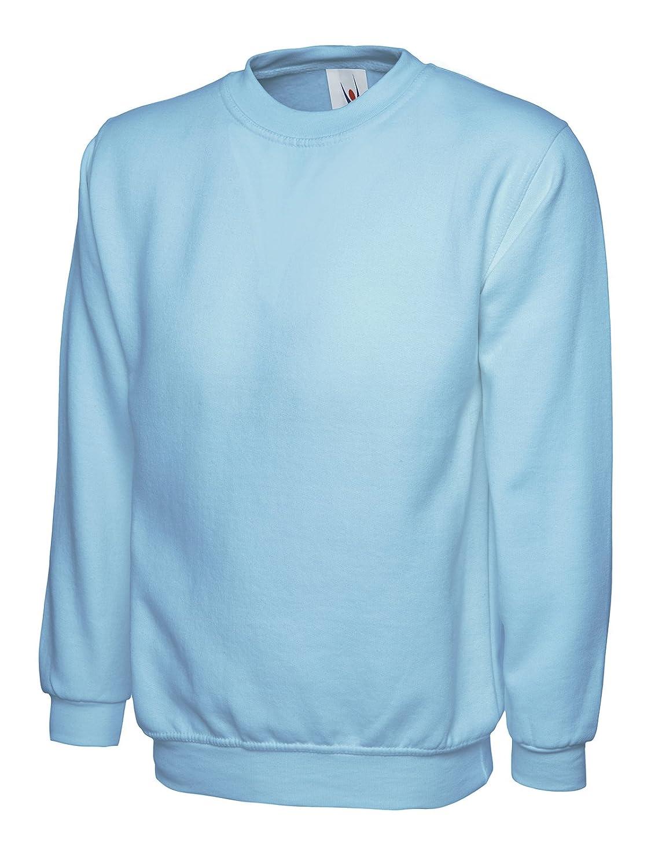 Uneek Classic Sweatshirt Work Wear Jumper - 13 Colours Available
