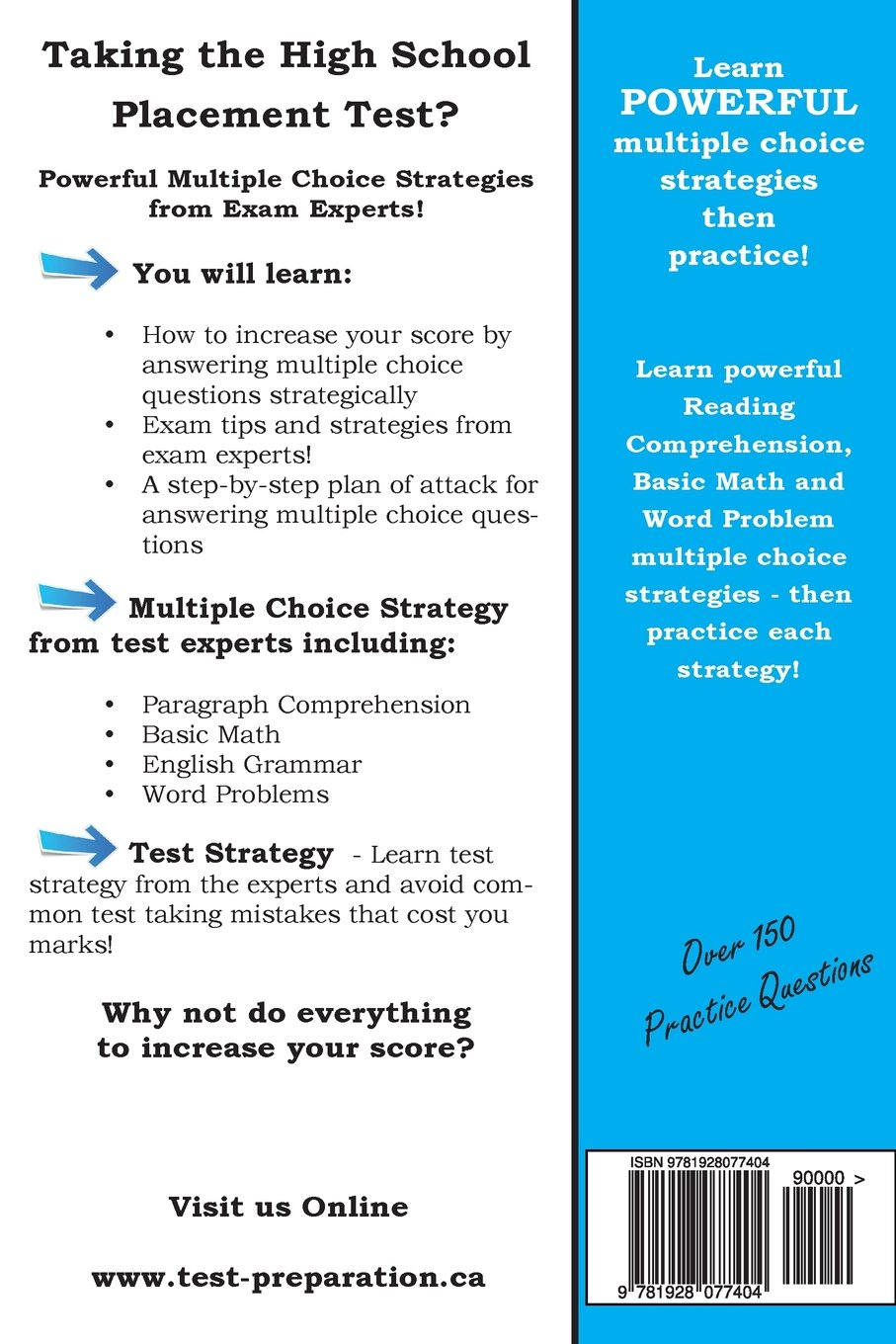 HSPT Strategy: Winning Multiple Choice Strategies for the HSPT Test ...