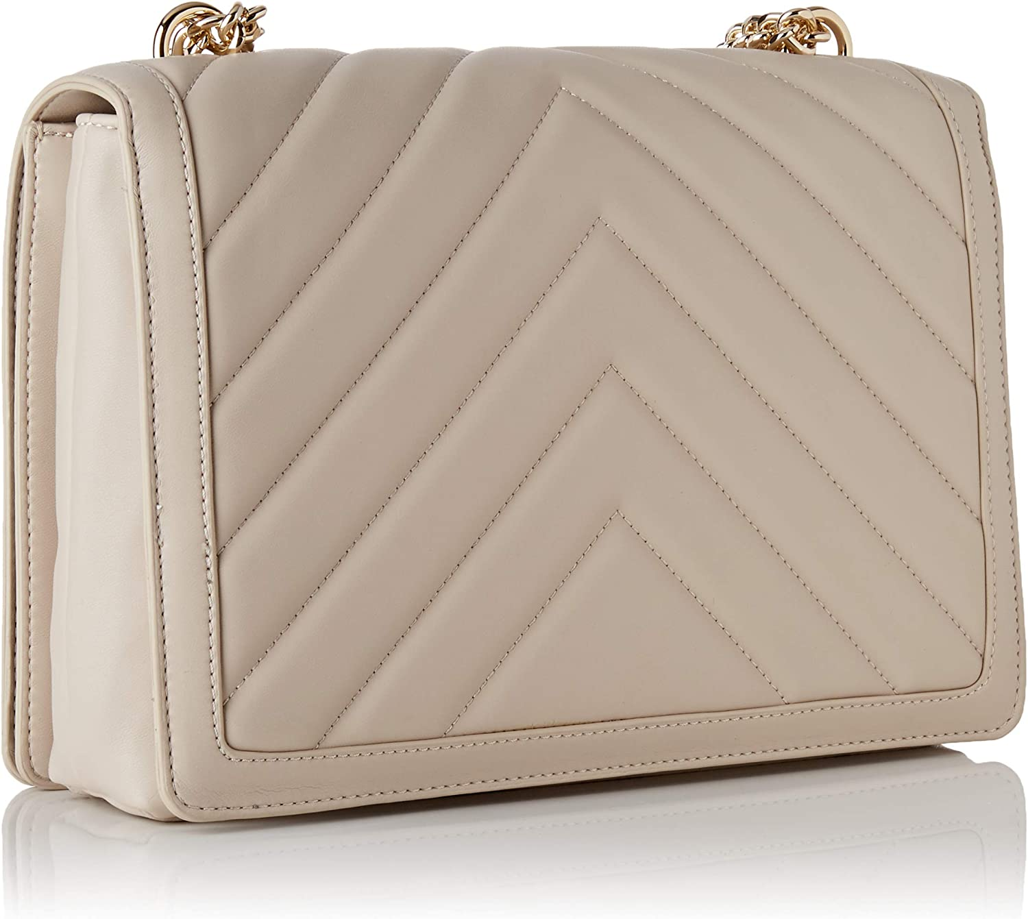 Love Moschino Women's Jc4233pp0a Cross-Body Bag Off-white (Ivory)