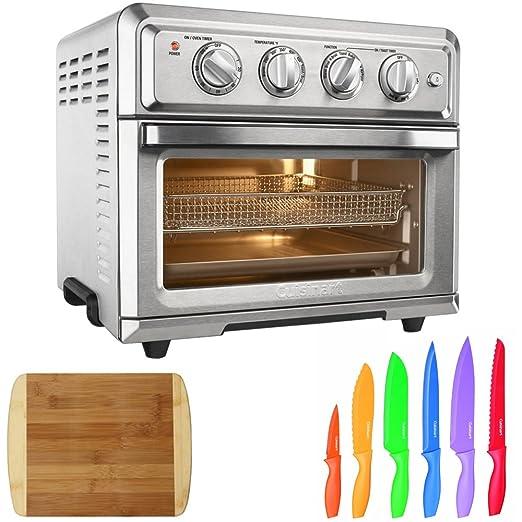 Cuisinart Toastador de convección para horno, freidora de aire con ...