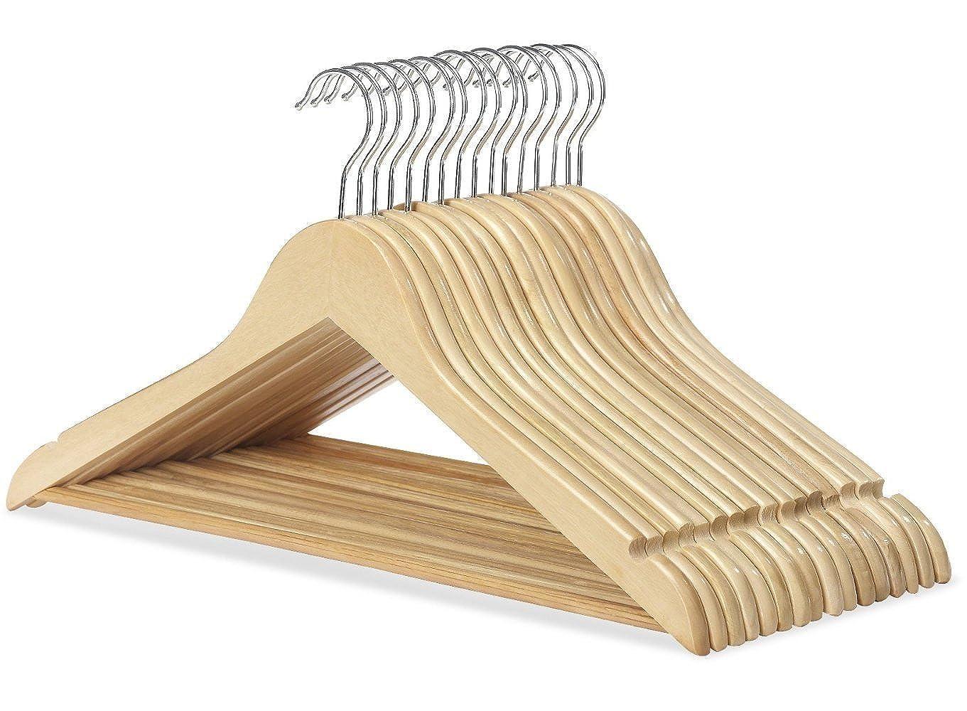 ropa Perchas de madera para armarios trajes pantalones