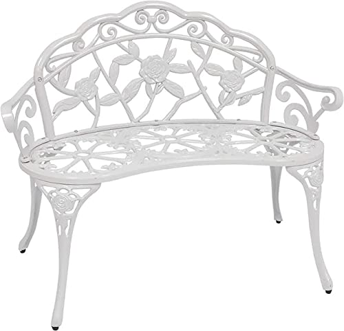 Patio Premier 213052 Outdoor Rose Garden Park Bench