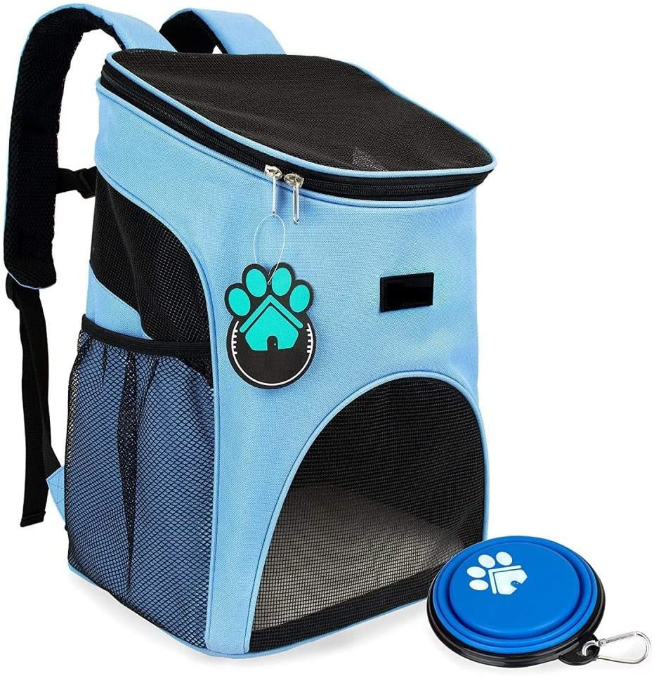 SHIYID Pet out Backpack Dog Bag Cat Bag Cat Cage Comfortable Breathable Backpack Removable Dog Kennel Cat Litter: Amazon.es: Productos para mascotas