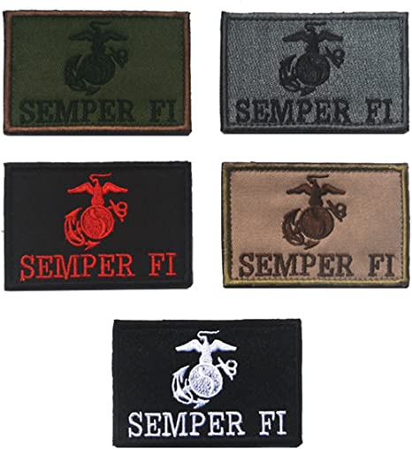 Conjunto de parches tácticos militares de velcro, diseño militar ...