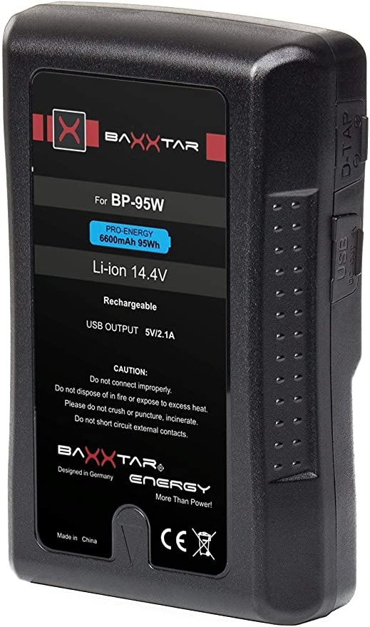 Baxxtar Pro V-Mount batería - LG Cells Inside: Amazon.es: Electrónica