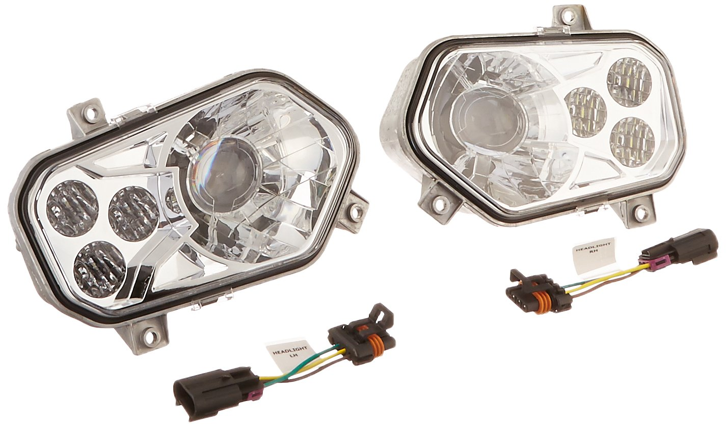 71qU x ra7L._SL1425_ polaris 2878542 led headlight kit, lights amazon canada Polaris 570 2017 ATV at gsmx.co