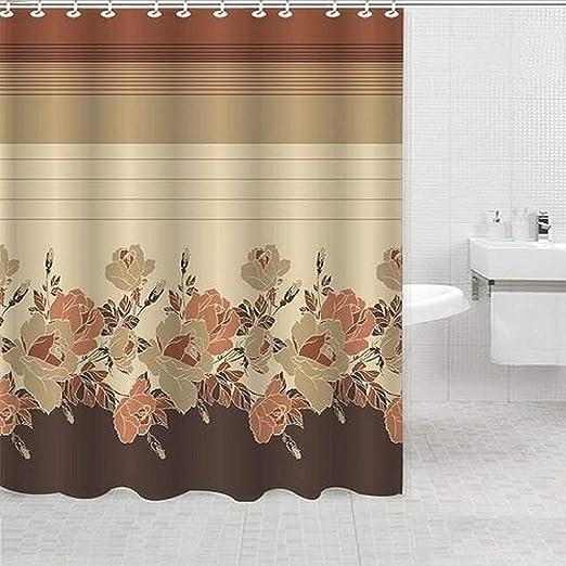 Amazon Com Daniel S Bath Shower Curtain Beige Rosanna Home Kitchen