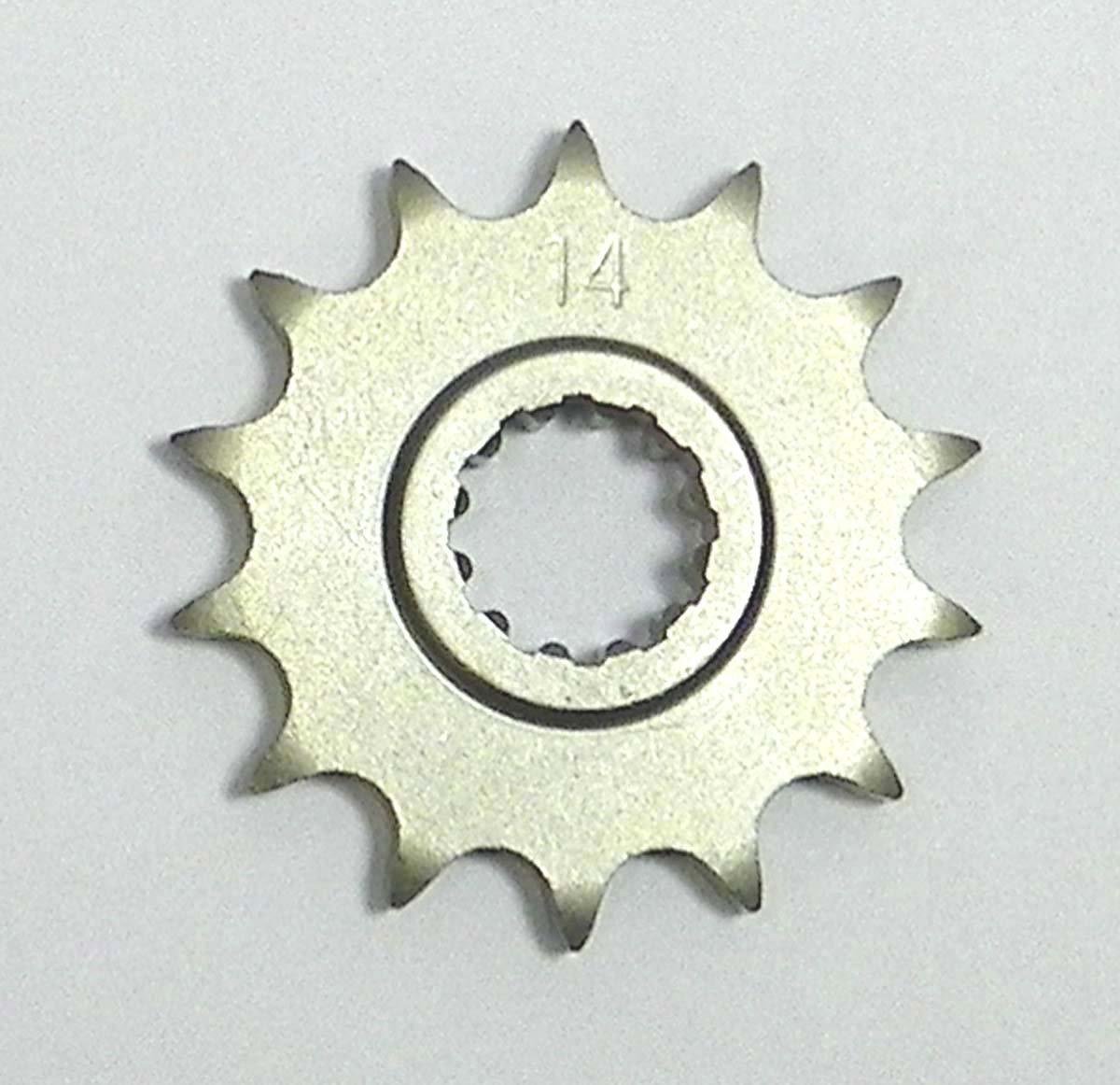 KTM Steel Front Sprocket Moto-X SX 85 2003-2017/ XC 85 2008-2009/ SX 105 2004-2011/ XC 105 2008-2009 14 Teeth FSE-013-14 OEM #: 47033029014