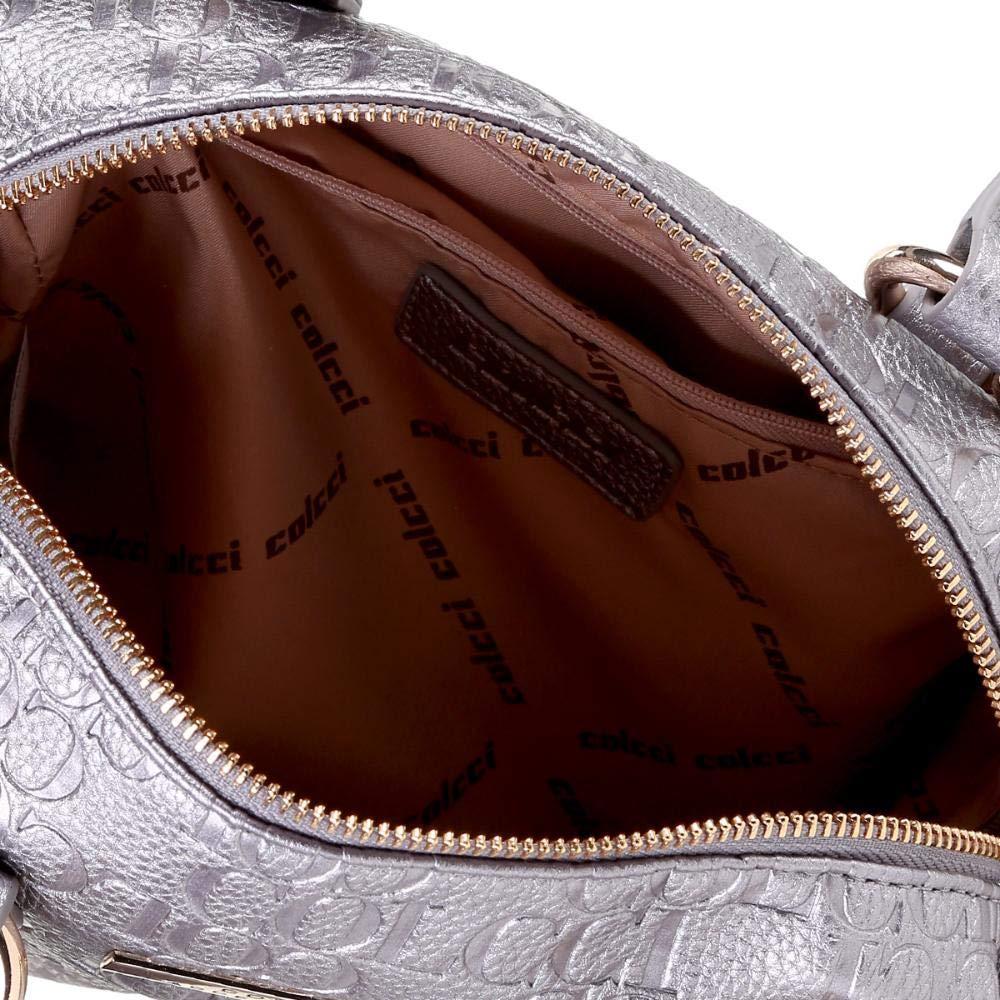 7c61a47d4 Bolsa Colcci Baú Metalizada Monograma Feminina - Grafite - Único:  Amazon.com.br: Amazon Moda