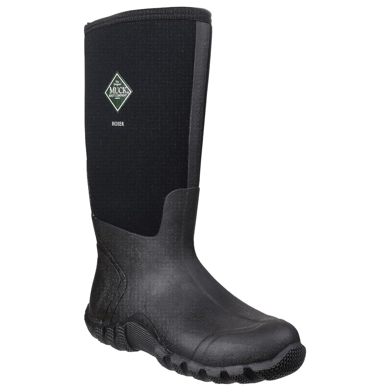 Amazon.com | Muck Boot Unisex Hoser Classic Hi Wellingtons (4 M US/5 W US) ( Black) | Rain