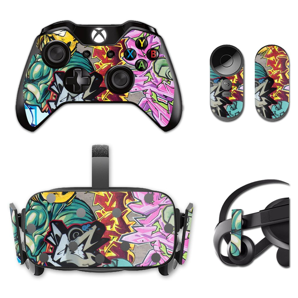 MightySkins Protective Vinyl Skin Decal for Oculus Rift CV1 wrap cover sticker skins Graffiti Wild Styles by MightySkins