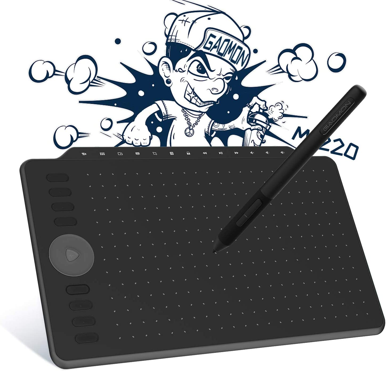 Gaomon M1220 12 Inch Drawing Tablet With 13 Multimedia Elektronik
