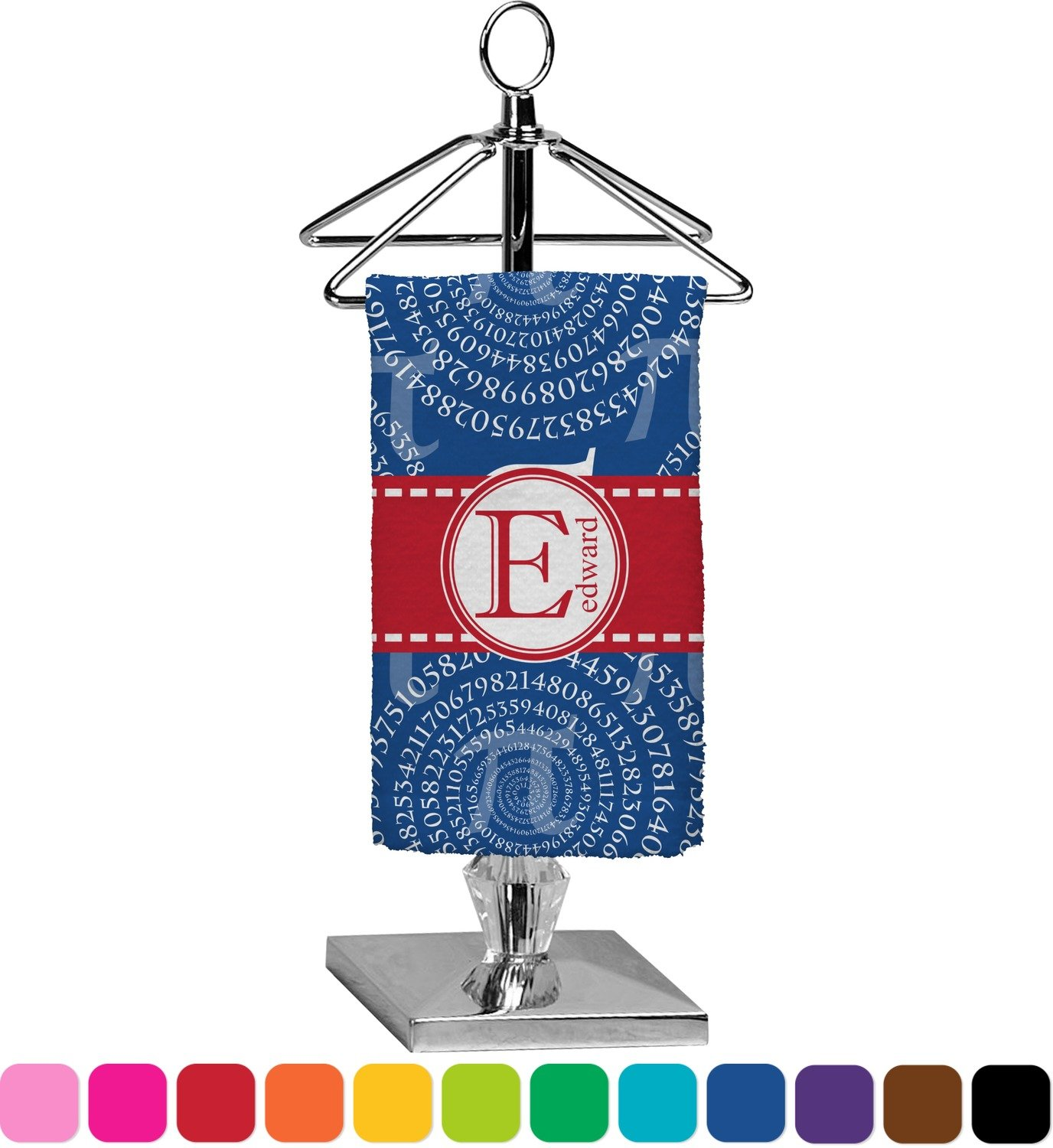 RNK Shops PI Finger Tip Towel - Full Print (Personalized)