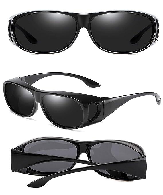Amazon.com: Gafas de sol para hombre y mujer, lentes ...