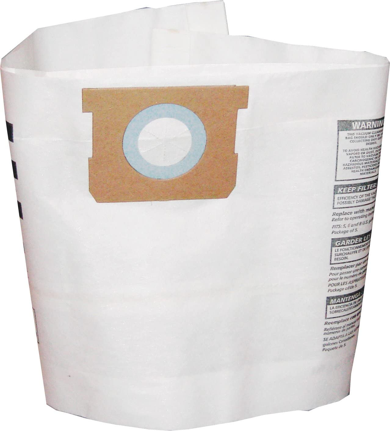 Shop-Vac 90661-33 3-Pack 5- to 8-Gallon Collection Filter Bags - Quantity 1