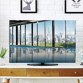 Funda para televisor LCD, decoración Moderna, Metropolitan ...