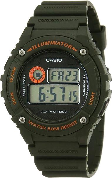Reloj de pulsera Casio W+216H.3B