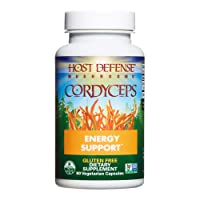 Host Defense, Cordyceps Capsules, Energy and Stamina Support, Daily Dietary Supplement...