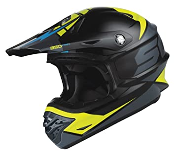 Scott 350 Pro Podium MX Enduro Moto/Bike Casco Negro/Verde 2015