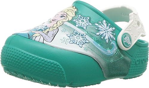 Crocs Kids Boys and Girls Frozen Elsa Light Up Clog
