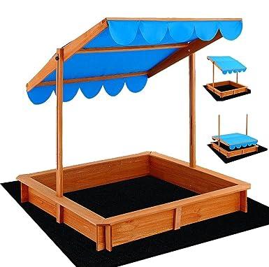 Extra Large Wooden canopy Sandpit Sandbox Kids Outdoor Toy Sport Beach Backyard  sc 1 st  Amazon.com.au & Extra Large Wooden canopy Sandpit Sandbox Kids Outdoor Toy Sport ...