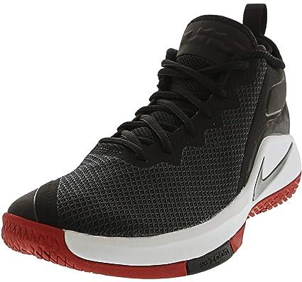 60604b8cca7a3 Nike - Nike Lebron Witness II Scarpe Basket Uomo Nere Rosse - Black ...