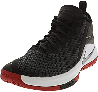 new arrival 9631d c01f6 Nike Lebron Witness II Chaussures de Fitness Homme, Multicolore  Black-White-GY 006