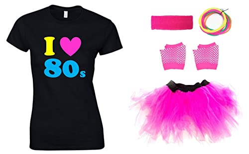 I LOVE THE 80s Ladies Outfit (T-Shirt)