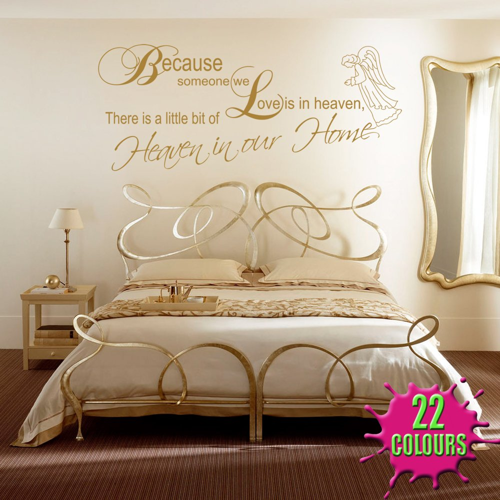Superbe A Little Bit Of Heaven   Wall Decal Art Sticker Lounge Living Room Bedroom  (Small): Amazon.co.uk: Kitchen U0026 Home