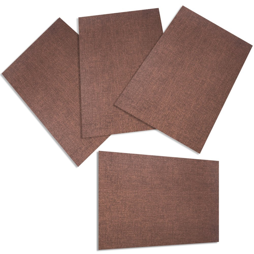 Amazon: Tomsoo Doublesided Pvc Dining Room Waterproof Placemats For  Table Heat Insulation Stainresistant Kitchen Place Mats, Set Of 4, Coffee:  Home &