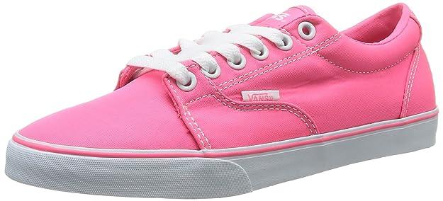 89f6fcf042 Femme Rose Baskets Neon Canvas Kress P 365 W Mode Vans qgXIUc
