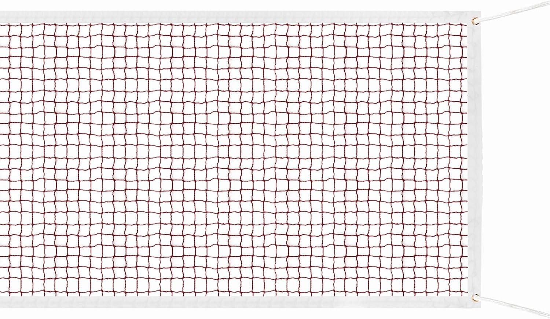 Netz Polypropylen Badminton-Wettkampfnetz Faltbares Federballnetz Outdoor Trainingsnetz 610 IPENNY Badminton Netz Tragbares Volleyball Net Tennis 76cm Wei/ßer Rand