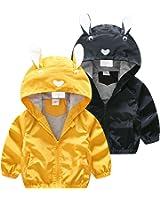 83859806cf32 Amazon.com  Felds Baby Girls Clothing Kids Boys Clothes Hooded Coat ...