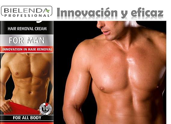 CREMA DEPILATORIA HOMBRES - VANITY MEN - Depilación facil para cuerpo entero: Amazon.es: Belleza