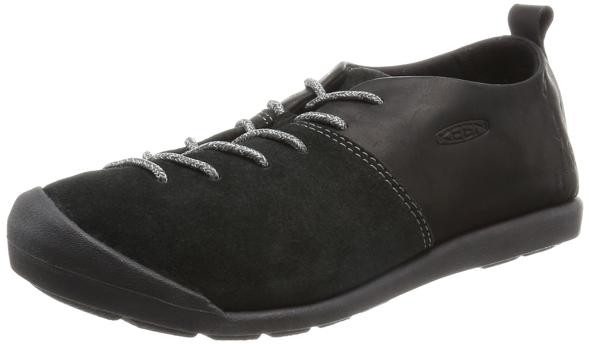 KEEN Women's Lower East Side Lace Shoe, Black, 8 M US