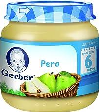 Gerber Papilla de Pera, Etapa 2 (Paquete de 24)