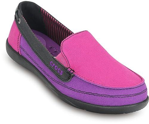 Buy crocs Walu Canvas Women Loafer in