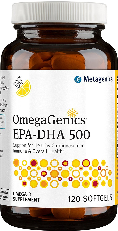 Metagenics - OmegaGenics EPA-DHA 500, 120 Count