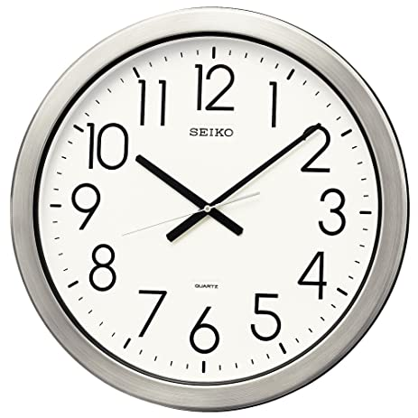 seiko clock seiko clock wall office type quartz moisture and dust metal f38 clock