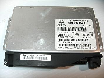 Audi A4 S4 Transmission computer TCU 8E0927156J TCM control