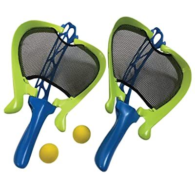 Diggin Whippet Catch Game Set. Scoop Ball Catcher & Track-Ball Jai Alai Thrower Toy: Toys & Games