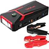 TACKLIFE T8 800A Peak 18000mAh Car Jump Starter with LCD Display (up to 7.0L Gas, 5.5L Diesel Engine), 12V Auto Battery…