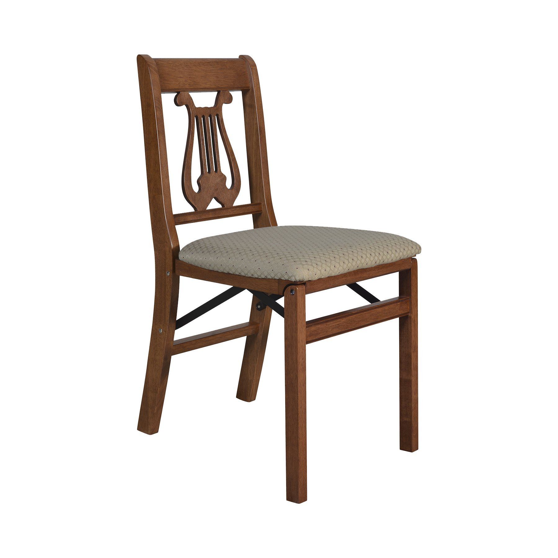 Stakmore Music Back Folding Chair Finish, Set of 2, Cherry