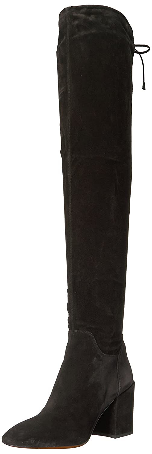 Aquatalia Women's Florencia Suede Over The Knee Boot B06X6GGDCZ 10 B(M) US|Black